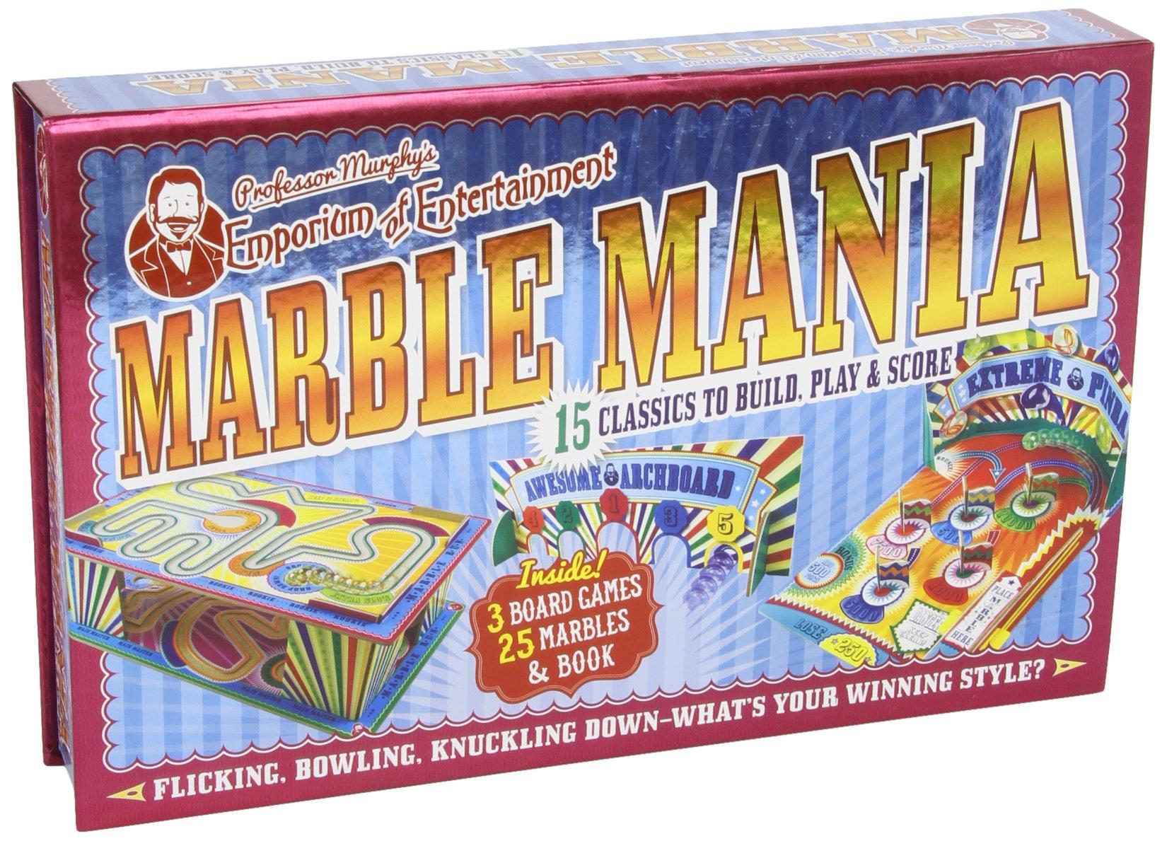 Professor Murphy's  Marble Mania