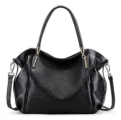 BIG SALE-AINIMOER Womens Leather Vintage Shoulder Bag Ladies ...