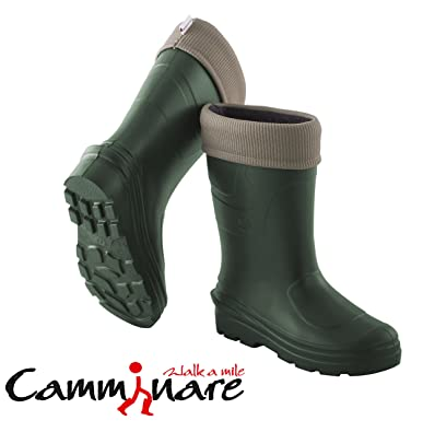 Camminare Thermal LIGHTWEIGHT EVAMATERIAL Wellies Wellingtons Boots Voyager Camo