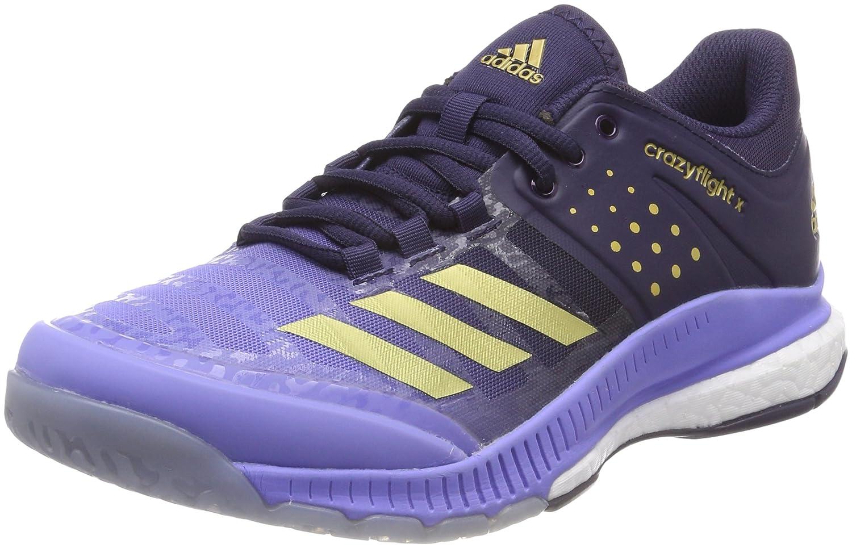 Violet (Chapur or Mt Nobink) adidas Crazyflight X W, Chaussures de Volleyball Femme 37 1 3 EU