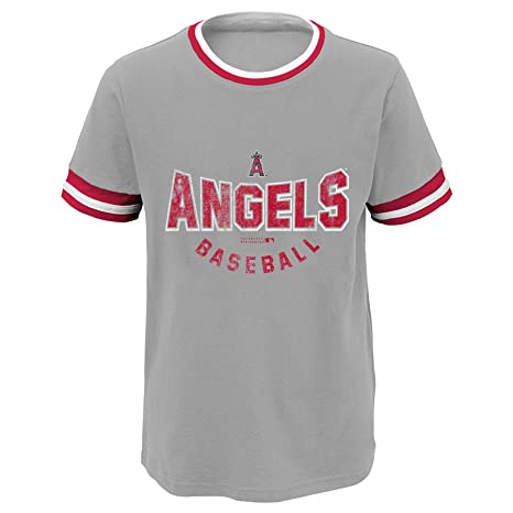 2b665b24a Amazon.com   Outerstuff MLB Youth Boys Short Sleeve Baseball Ringer ...