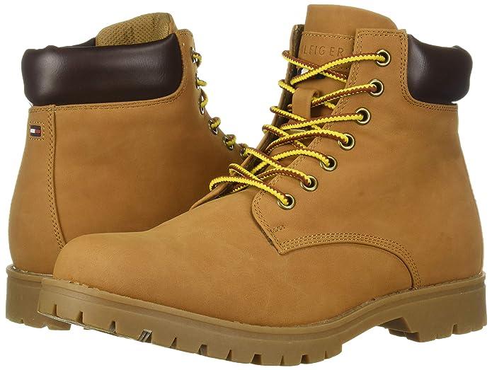 Tommy Hilfiger 汤美费格 Jorus 合成革 男式短靴 9.5码2.9折$28.8 海淘转运到手约¥316