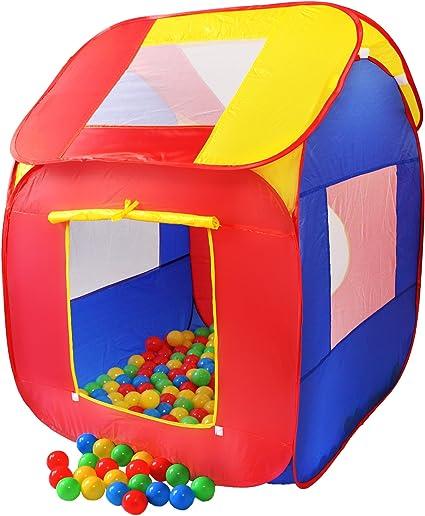 KIDUKU® Tienda de campaña Infantil Piscina de Bolas Tienda de Tela ...