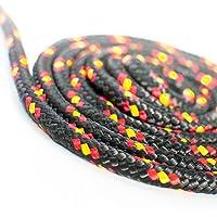10 m cuerda de polipropileno 3 mm negro