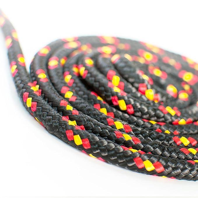 30m POLYPROPYLENSEIL 3mm BLAU Polypropylen Seil Tauwerk PP Flechtleine Textilseil Reepschnur Leine Schnur Festmacher Rope Kunststoffseil Polyseil geflochten