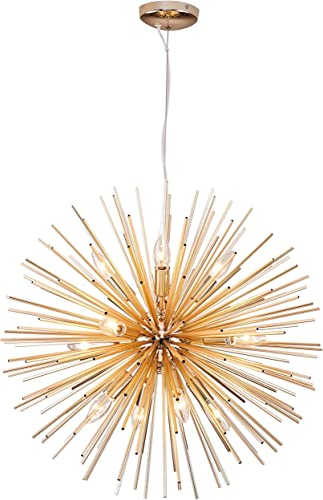 Modern Gold Sputnik Chandeliers Pendant Light fixture