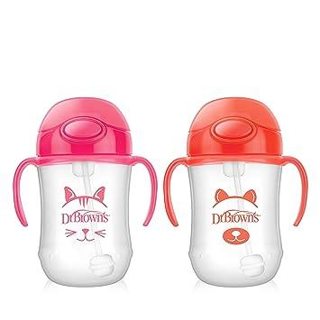 Amazon.com: Dr. Browns - Taza de paja para bebé: Baby
