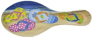 Flip Flop Melamine Plastic Spoon Rest
