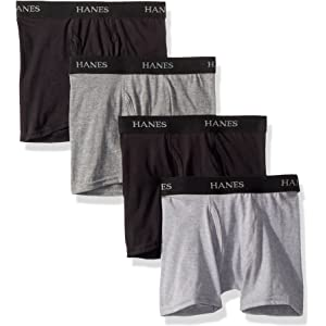 CHEROKEE Boys Little 6-Pack Tag-Free Cotton Performance Boxer Brief Underwear