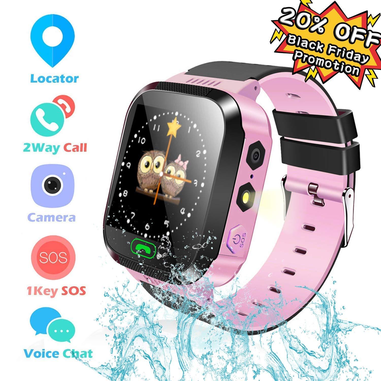 Reloj Inteligente Smartwatch para niños, rastreador de ...