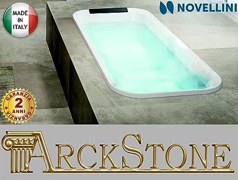 Vasca Da Bagno Altezza Standard : Vasca bagno novellini divina f standard incasso colore finitura