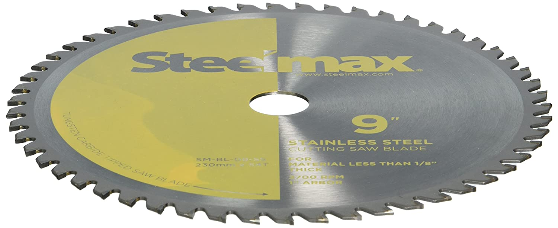 Steelmax 9 TCT Blade for Thin Steel