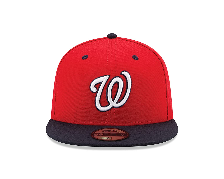 quality design e5323 58d6c Amazon.com   New Era 59FIFTY New Era Washington Nationals MLB Authentic  Collection On Field Alternate2   Sports   Outdoors