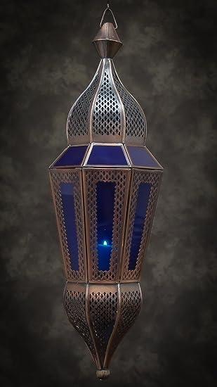 Green Moroccan Style Ornate Marrakech Garden Candle Lantern Tea Light Holder