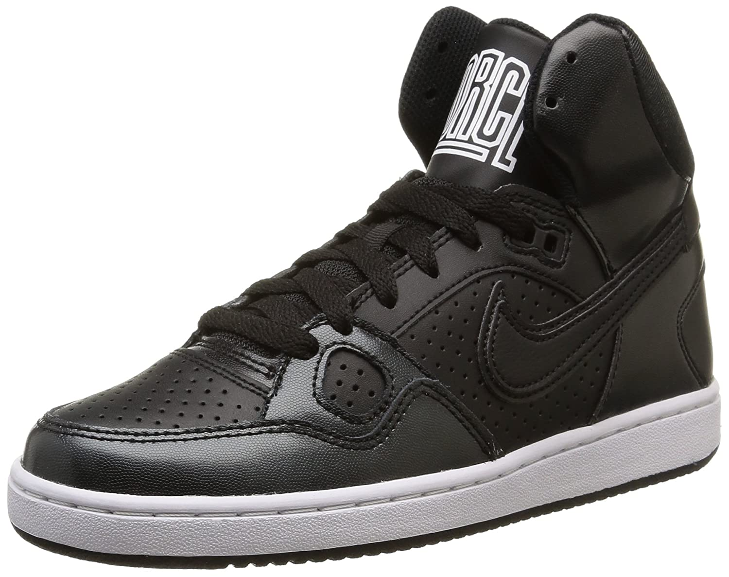 hot sale online 0c56c dc941 Amazon.com   Nike Women s Son Of Force MId Basketball shooes Black    Basketball
