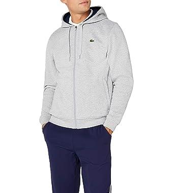 53bac2e71c663a Lacoste Sweat-Shirt à Capuche Homme  Amazon.fr  Vêtements et accessoires