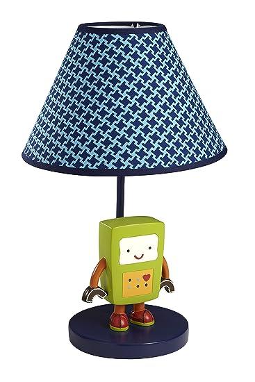 Amazon.com : NoJo Baby Bots Lamp and Shade : Nursery Lamps : Baby