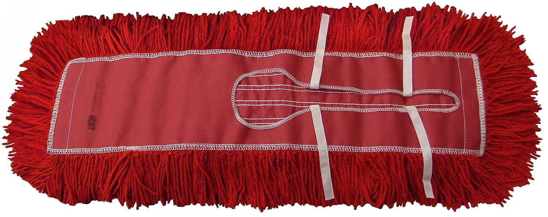 1 Ergonomic Dust Mop Handle Clip-on Style 60 Wire Dust Mop Frame /& 1 Dust Mop Kit 60 : 60 Red Industrial Closed-Loop Dust Mop, 1