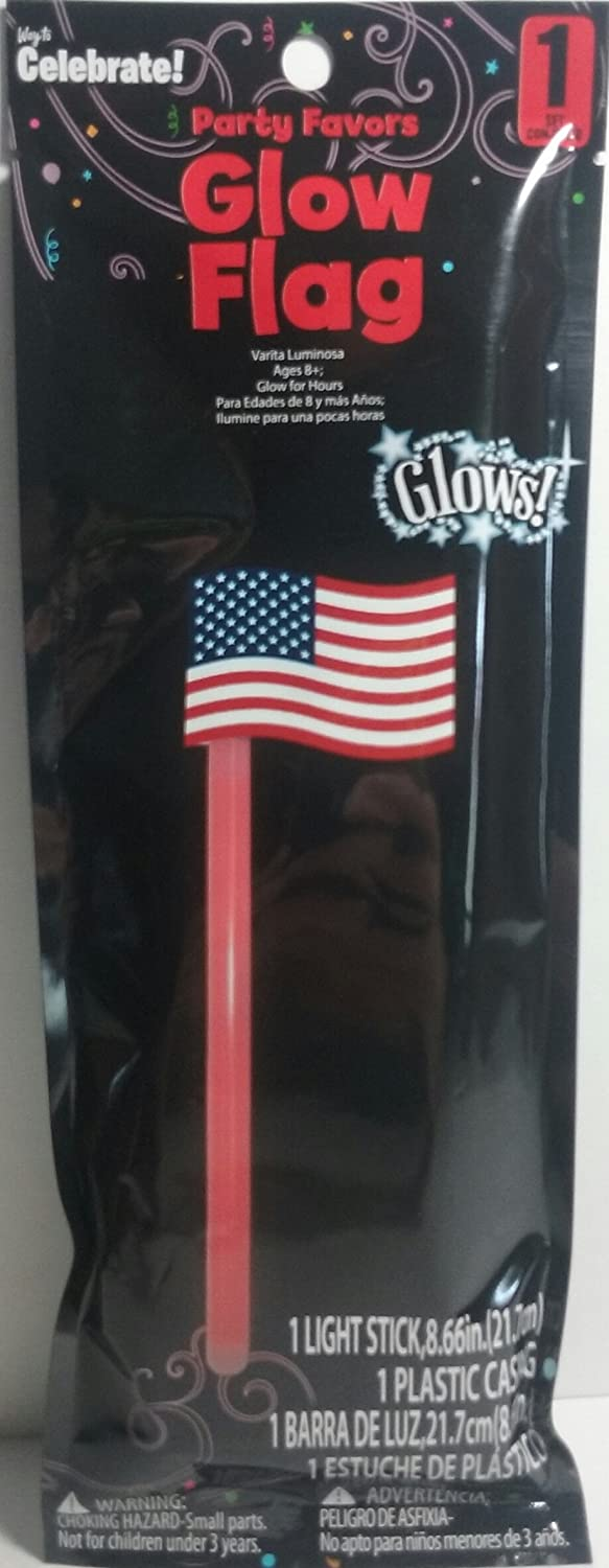 Party Favors Glowing American Flag