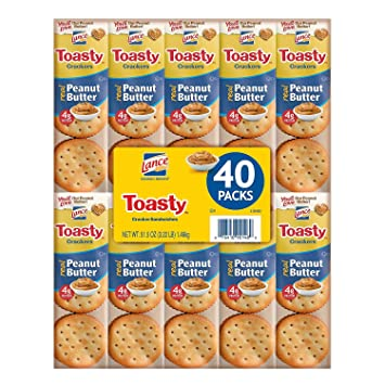 lance toasty peanut butter sandwich crackers