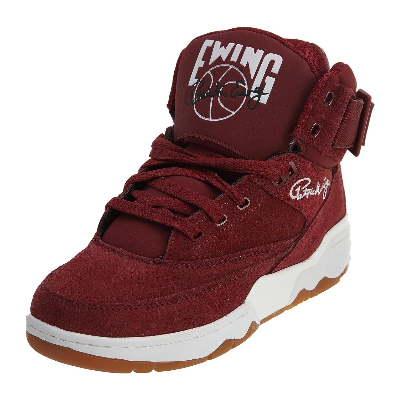 Ewing Athletics Patrick Ewing 33 HI Men s Basketball Shoes 1EW90013-602  Biking Red White-Gum 5 M US  Amazon.ca  Shoes   Handbags d8b96236aa89