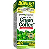 Purely Inspired Green Coffee Bean, Weight Loss Supplement, Non-Stimulant 100% Pure Green Coffee for Weight Loss, 100…