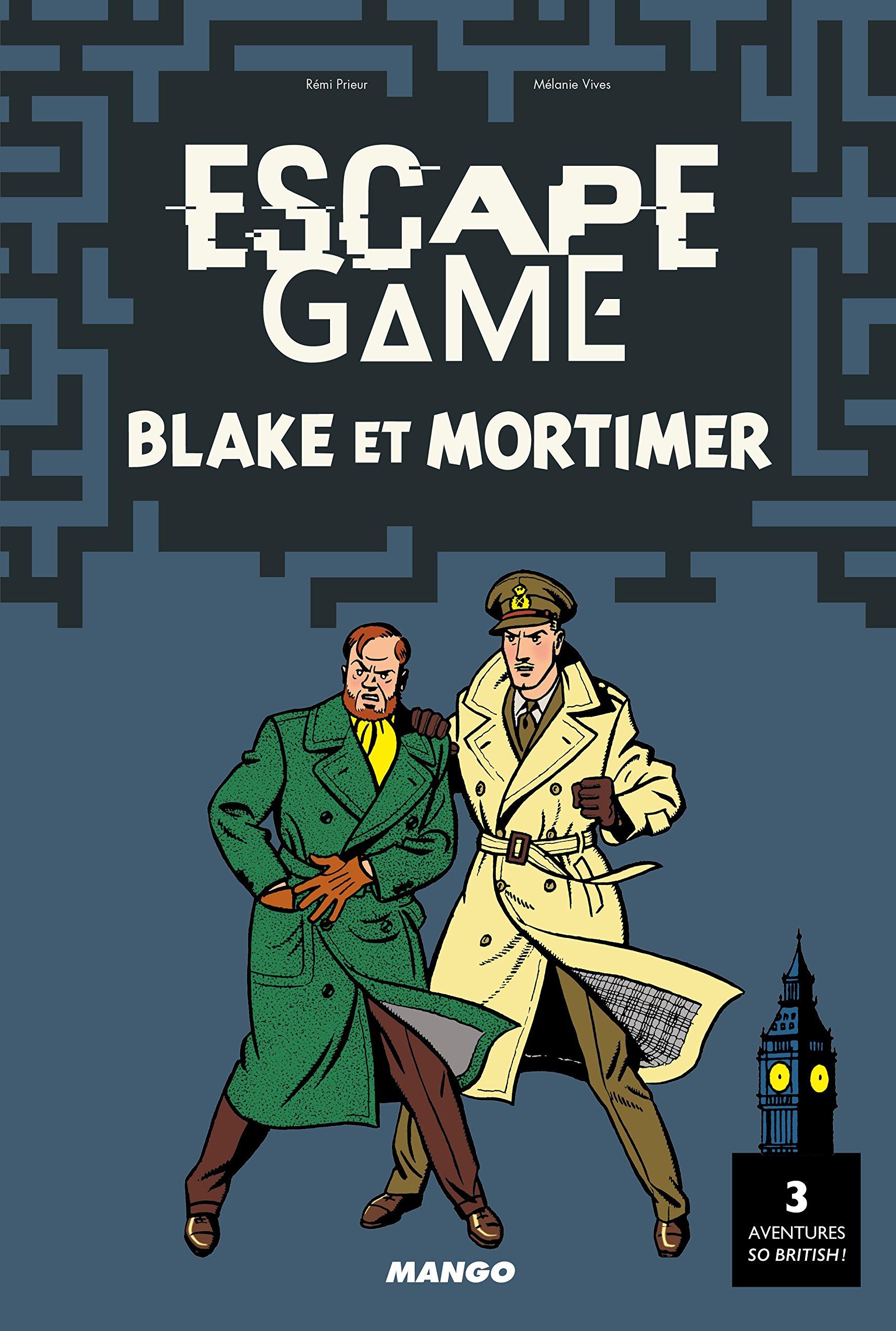 Escape Game Blake Et Mortimer 9782317016769 Amazon Com Books