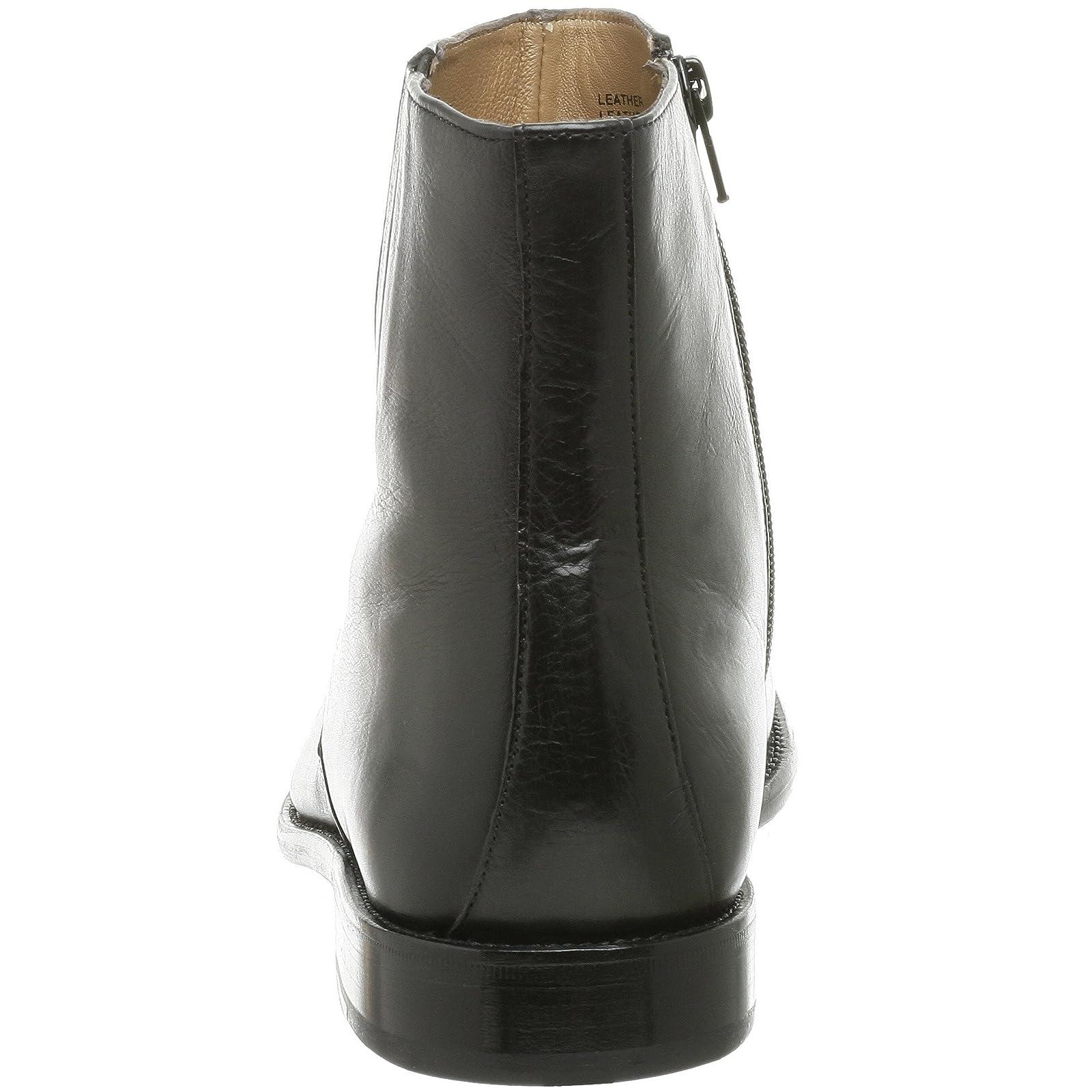 Florsheim Men's Hugo Boot 18570 Black Milled Leather - 2