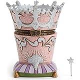Jim Shore Wizard of OZ Glinda's Crown Treasure Box w/Hidden Wand
