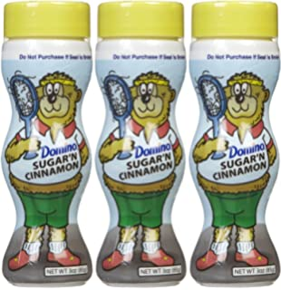 Domino Sugar & Cinnamon Shakers, 3 oz, ...