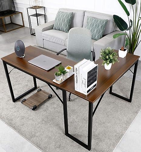 L Shaped PC Desk Computer Gaming Desk Modern Corner Desk Writing Office Desk Workstation
