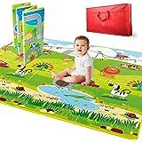 Amazon Com Myline Baby Playmat Happy Chicks Animal Abc