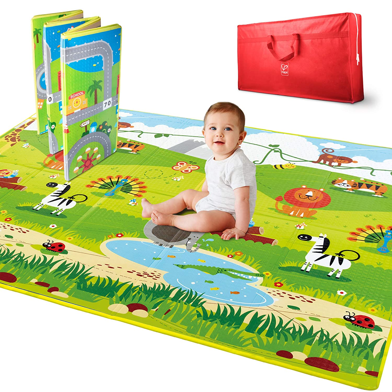 Hape Baby Play Mat – 5 x 5 Large Foldable Mat