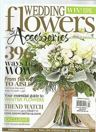 Amazon Com Wedding Flowers Accessories Magazine Uk November