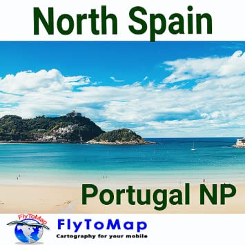 Map Of North Spain Coast.Amazon Com North Spain To Portugal Gps Map Navigatore Appstore For