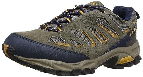 Hi-Tec Fusion Sport Low Waterproof, Men's Hiking Boots, Dark Taupe/Midnight