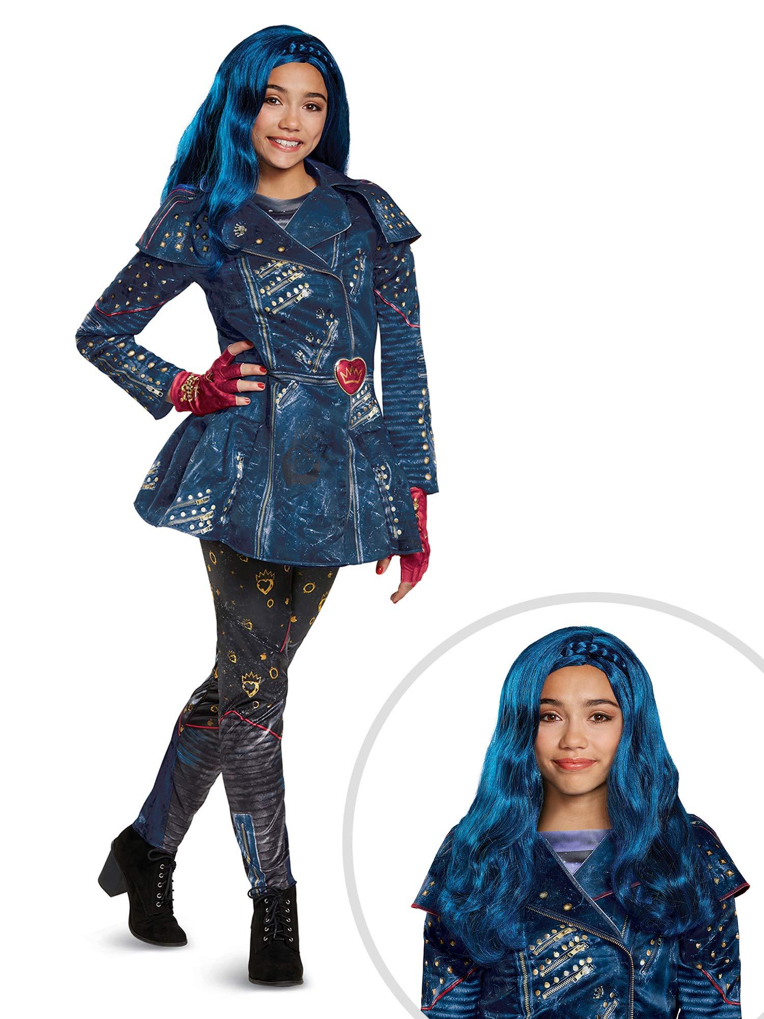 Descendants Evie Costume Kit Kids Medium With Wig