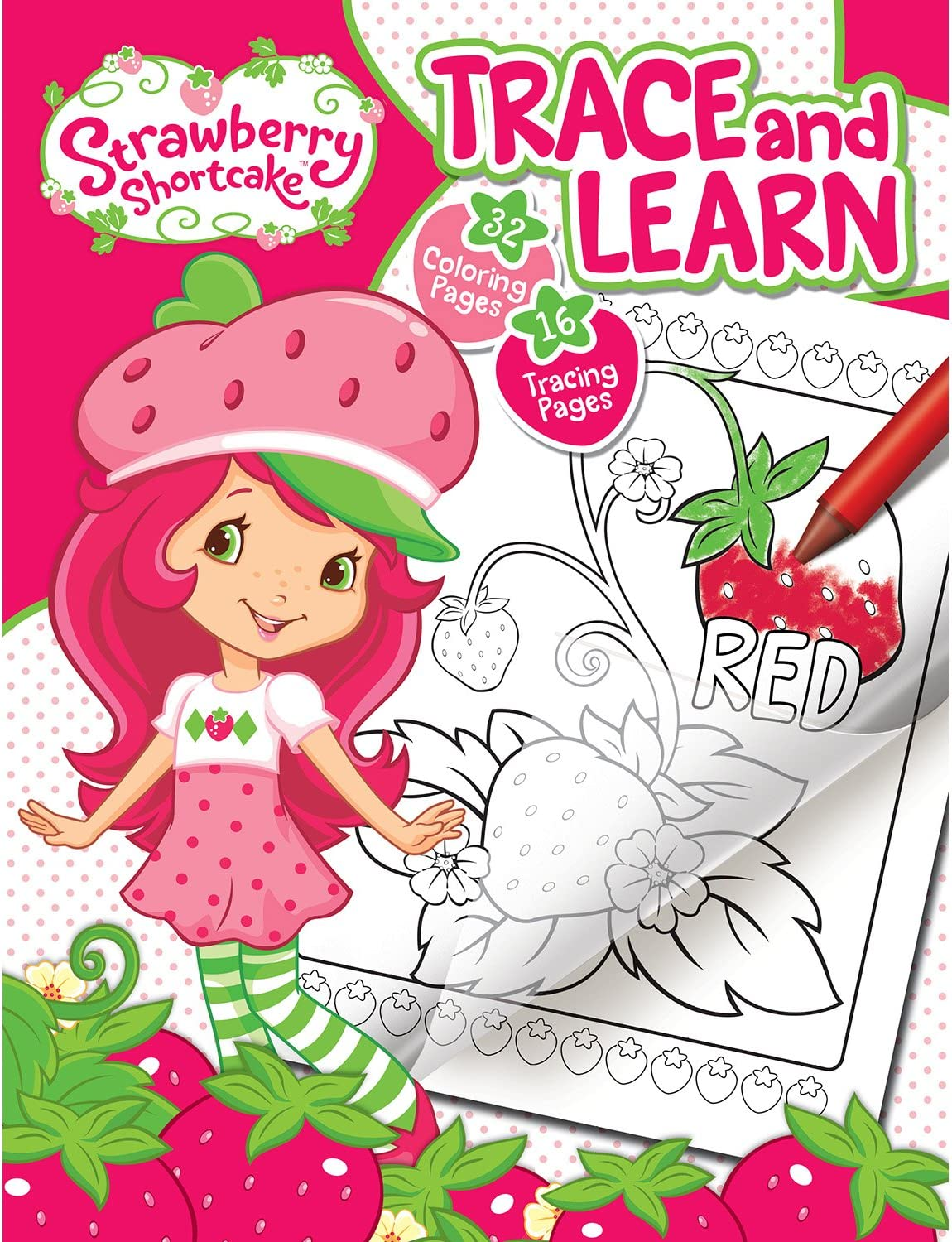 - Amazon.com: Bendon Strawberry Shortcake Color & Trace Activity