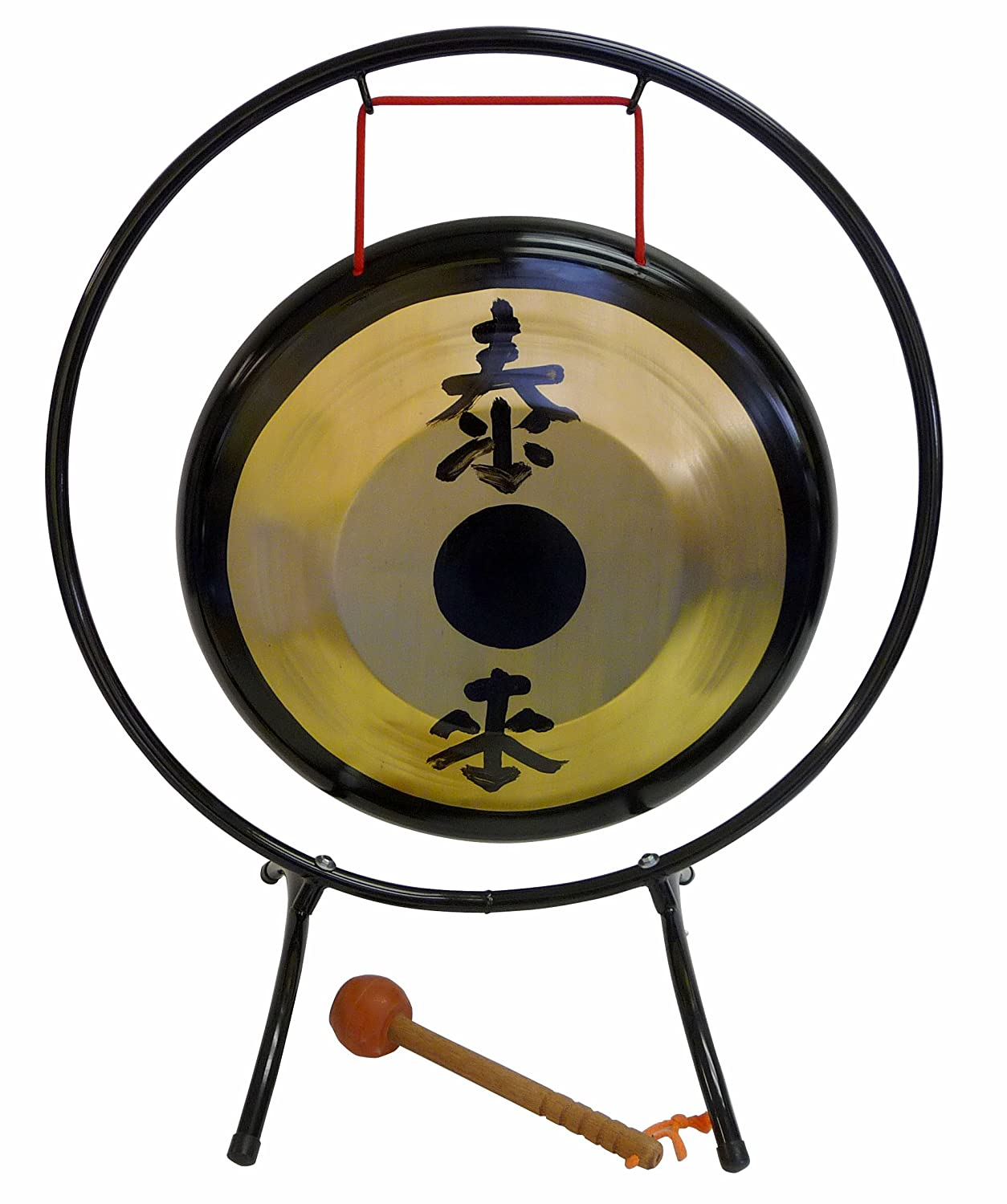 Suzuki Musical Instrument Corporation HKG-14 14-Inch Brass Gong with Stand and Mallet
