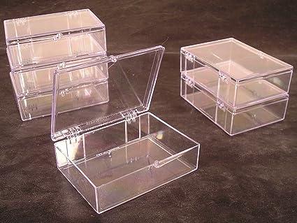 Amazon.com: Lote de 6 cajas de almacenamiento de tarjeta de ...