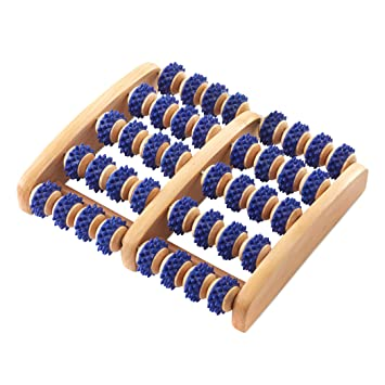 d911959cd0 Amazing Wooden Foot Roller by Body Back Company - Plantar Fasciitis Pain  Relief, Pressure Point