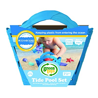 Green Toys Oceanbound Tide Pool Set: Toys & Games