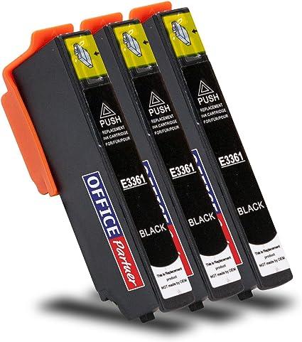 Multipack 3 Cartuchos de Tinta compatibles para Epson T3361 Foto ...