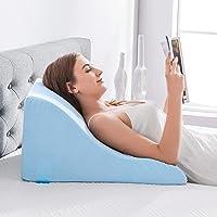 NOFFA Almohadas de lectura - Almohada de cuña de Espuma viscoelástica Apoyo de Espalda…