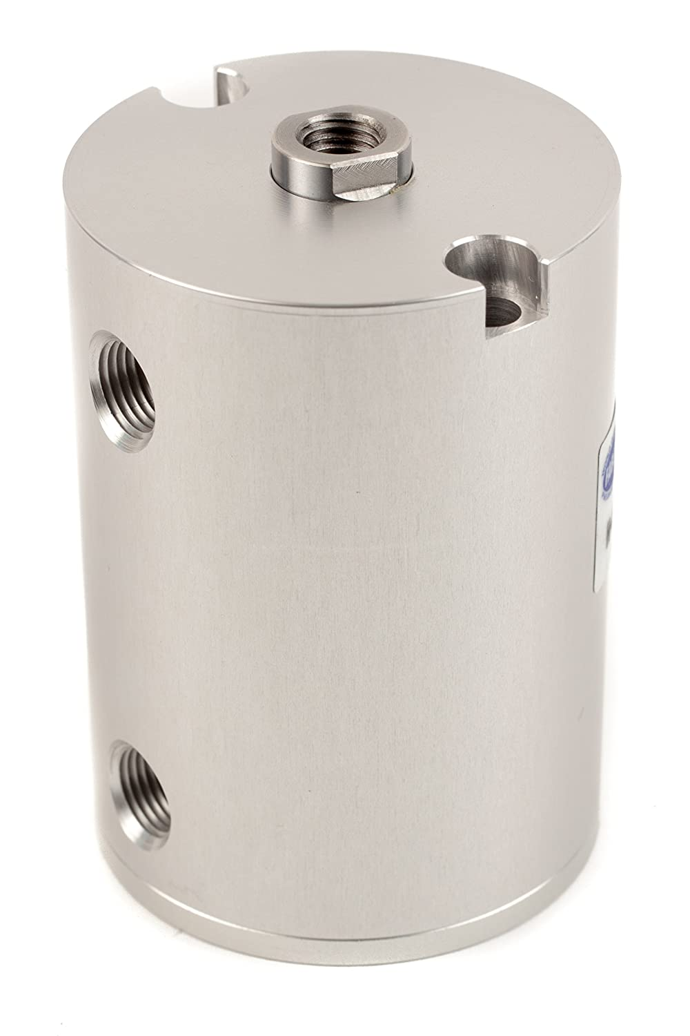 Fabco-Air H-121-X Original Pancake Cylinder, Double Acting, Maximum Pressure of 250 PSI, 1-1/8' Bore Diameter x 1-3/4' Stroke