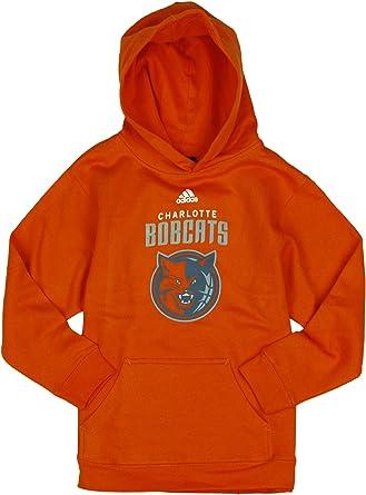 Adidas Performance Charlotte Bobcats Nba Sudadera Con Capucha Para Ninos Grandes Y Jovenes Con Logo Del Equipo Color Naranja Talla Grande 14 16 Naranja Naranja 14 16 Amazon Es Deportes Y Aire Libre