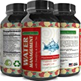 Pure Water Away Pills For Rapid Weight Loss - Achieve Natural Results Thanks to Ingredients Like Dandelion Root Extract - Boost Metabolism & Suppress Appetite - for Men & Women by California Products