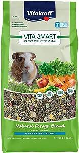 Vitakraft VitaSmart Complete Nutrition Guinea Pig Food, 8 lbs