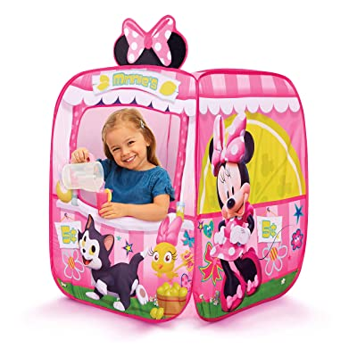 Minnie Mouse Kids Pop Up Tent Children's Playtent Playhouse for Indoor Outdoor, Great for Pretend Play in Bedroom Or Park! for Boys Girls Kids Infants & Baby: Toys & Games