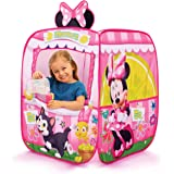 Kids Pop Up Tent - Minnie Mouse Children's Playtent Playhouse for Indoor Outdoor, Great For Pretend Play In Bedroom Or Park!